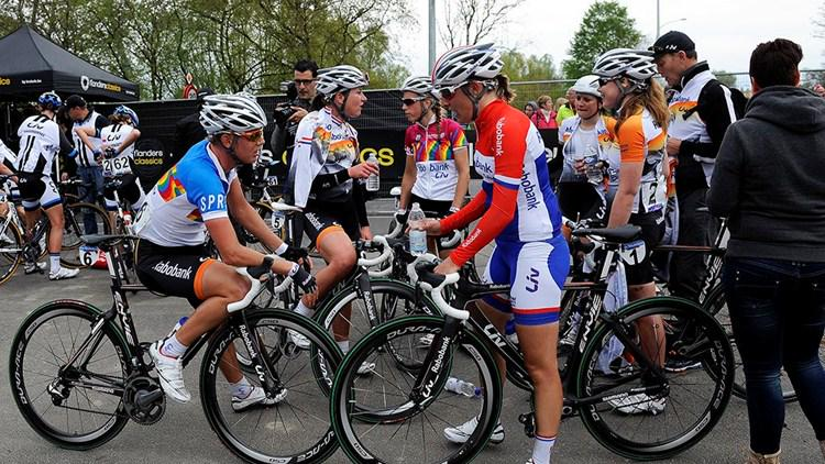 Photo: It could be argued that gender suppression is related to the lack of female role models within cycling.