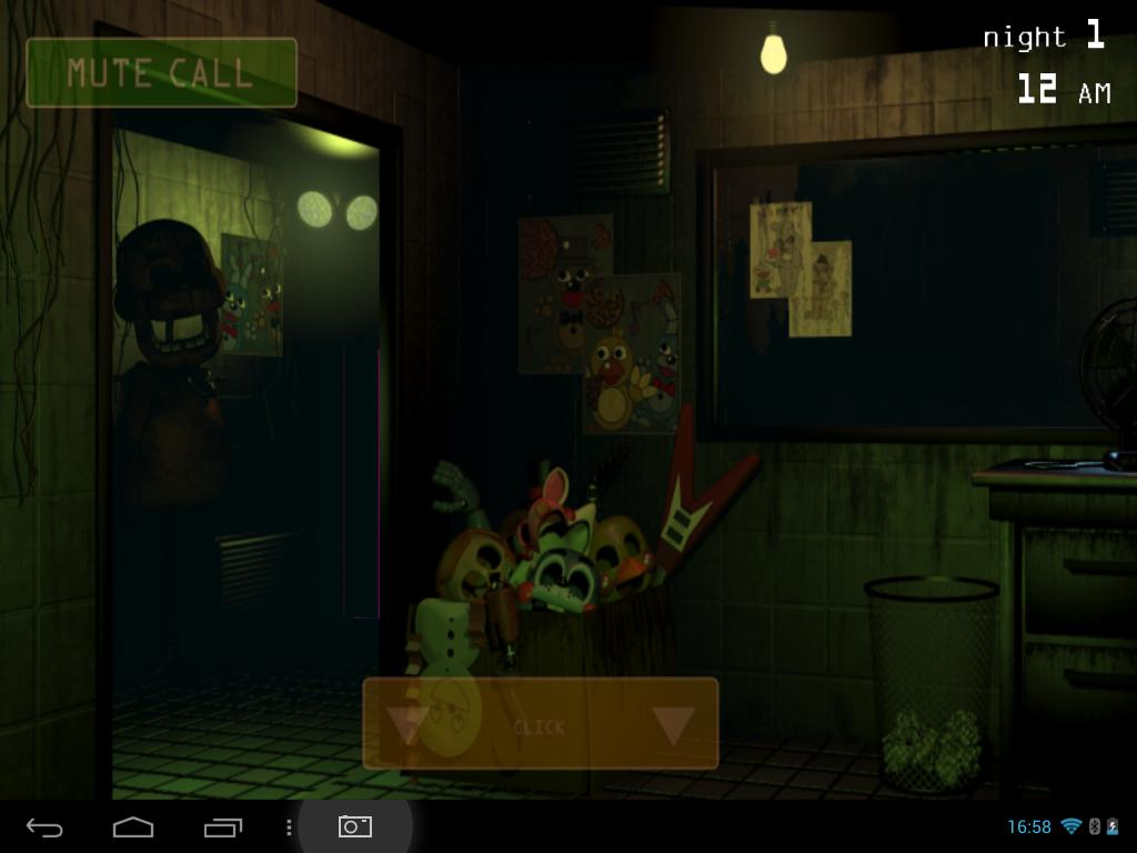 five nights at freddy's на андроид