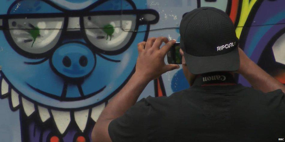Tourists drawn to #graffiti in Johannesburg http://t.co/YJ9qhGwgPx