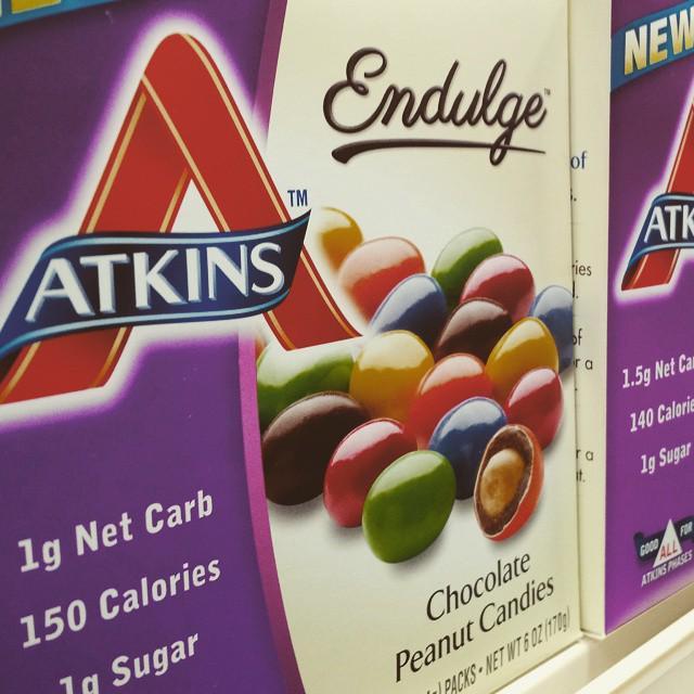 Caramelle al cioccolato Atkins ritirate per tracce di arachidi non dichiarate