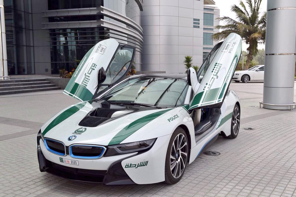 BMW i8 added to exotic Dubai police fleet