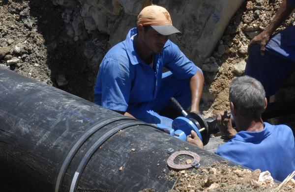 Realizan en Camagüey acciones de mantenimiento al sistema de abasto de agua