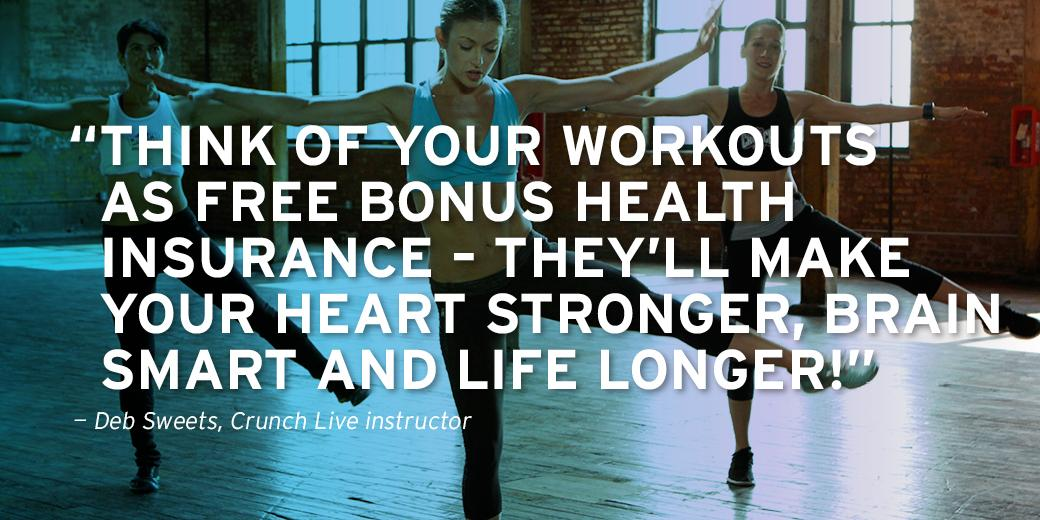 Think about your workout in a new way. Mix up your #WorkoutWednesday and try #CrunchLive: http://t.co/S0cbiOC9cI http://t.co/JoJqjjMXup