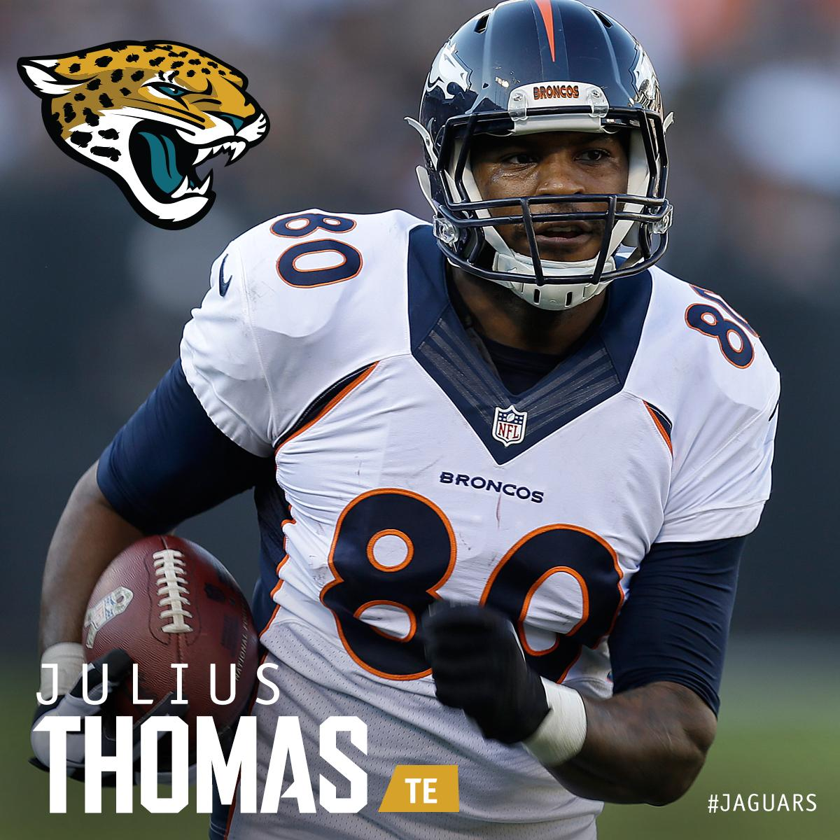 Julius is a Jag!  @Julius_Thomas​ makes it official.  MORE: http://t.co/hHlEufkLGk http://t.co/1UA0mj5gIl