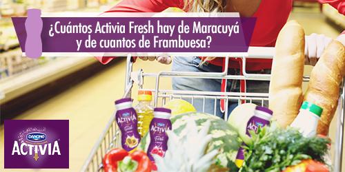Llevar solo uno, es imposible. Mira la foto, ¿cuántos Activia fresh hay de cada sabor? http://t.co/S2sB4EQkdg