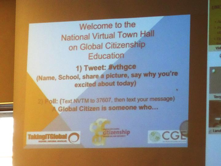 #UTS students present the first keynote of the day at #VTHGCE - hosted by Taking It Global. http://t.co/lLIwkm99tn http://t.co/gxt8K1R8f8