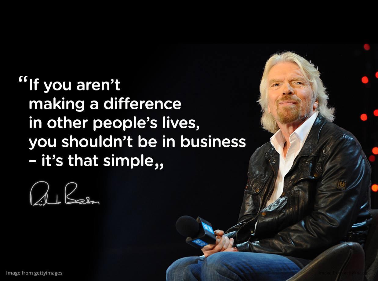 leadership in business richard branson Leading their business affairs although, the one thing they all have in  richard  branson's leadership style, motivation, and transformation as a business.