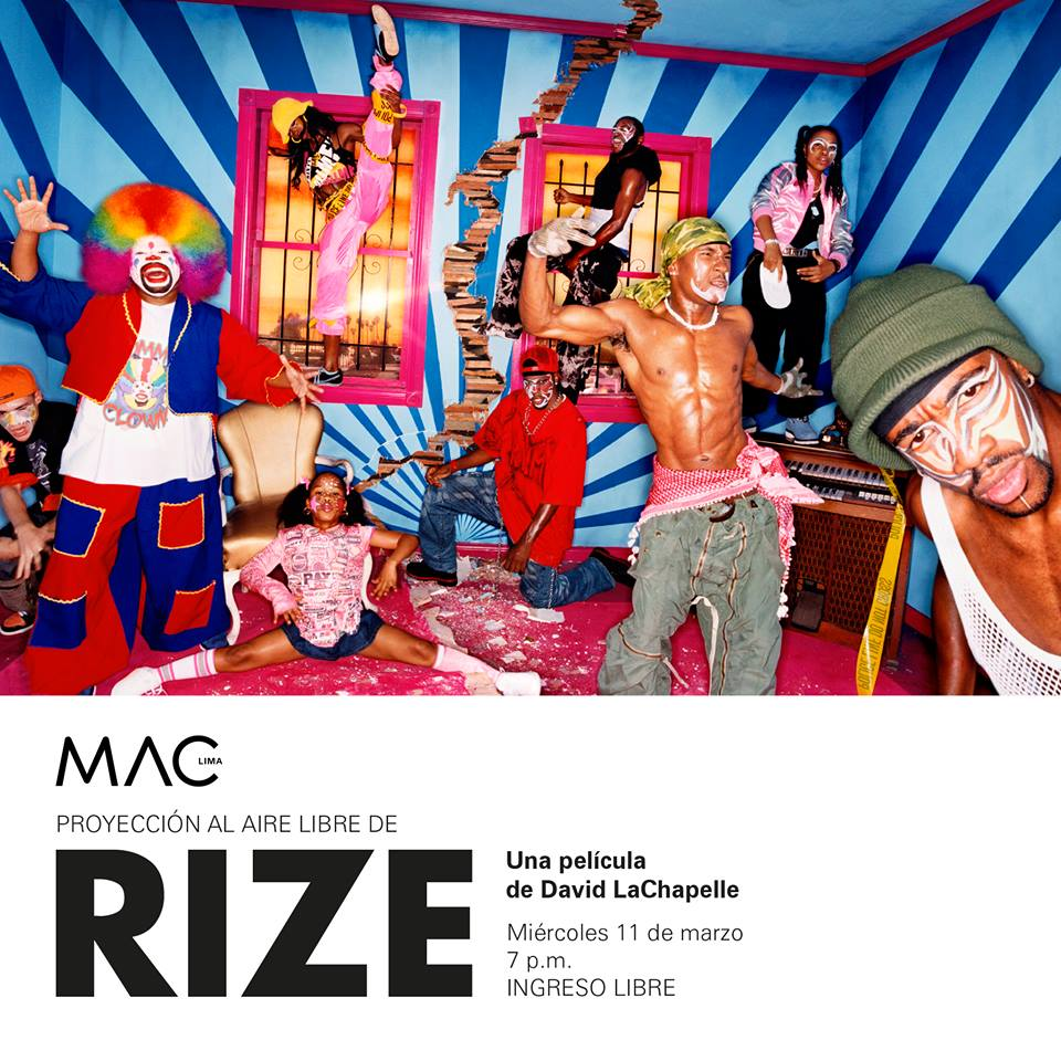 "Outdoor Screening of ""Rize"" at @museomaclima TONIGHT 7pm! http://t.co/Go2bAzH2w2 http://t.co/UVmLYw9tWP"