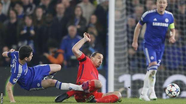 Chelsea-PSG Video Champions League: espulsione Ibrahimovic giusta o eccessiva?