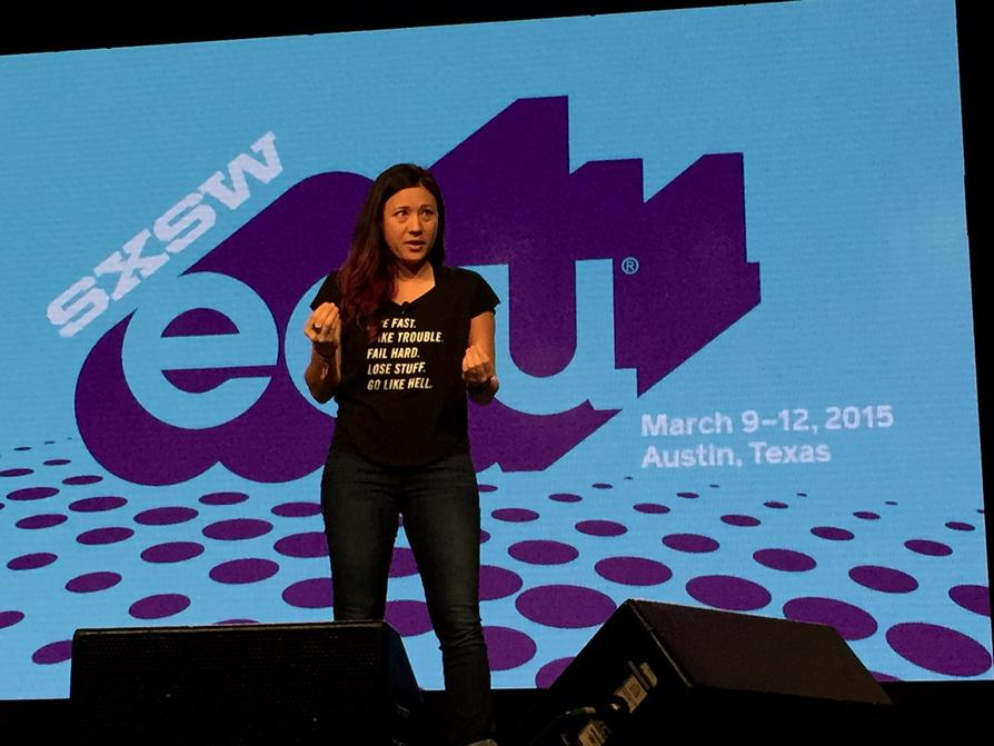 The best learning is by doing something for others. #projectH #SXSWedu http://t.co/eCRLs9buXh
