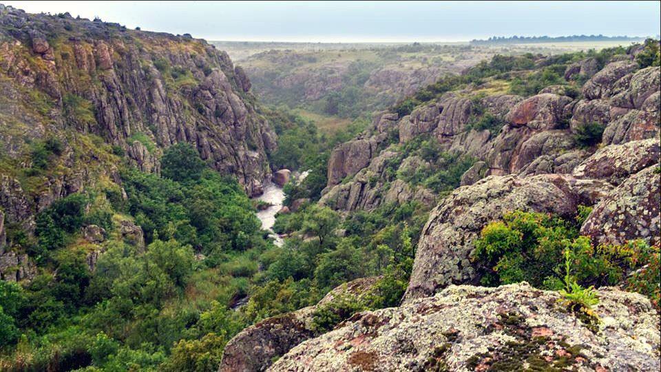 Невідома Україна: Актовський каньйон в Миколаївській області глибиною в 40-50 метрів http://t.co/O76o69vauN