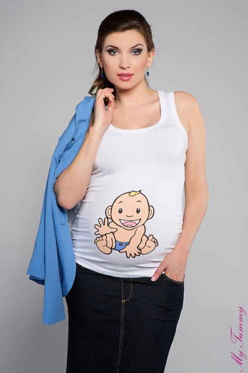 Roliga mammakläder med tryck
