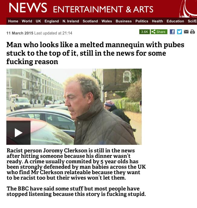 All you need to know about Jeremy Clarkson  http://t.co/JytdMOk3fn