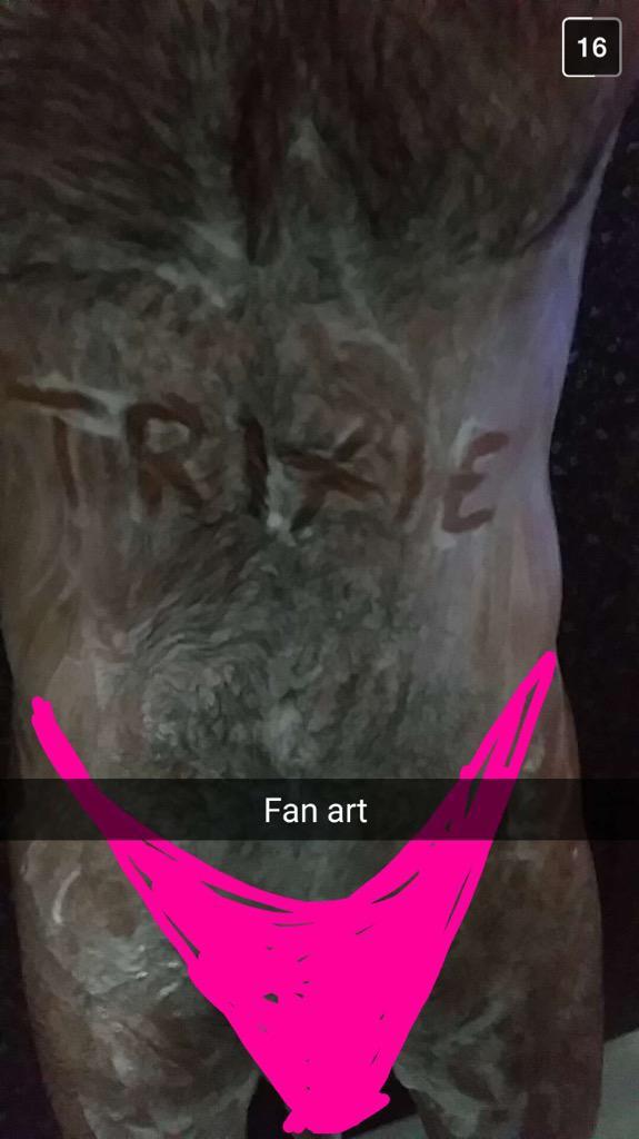 Trixie mattel snapchat