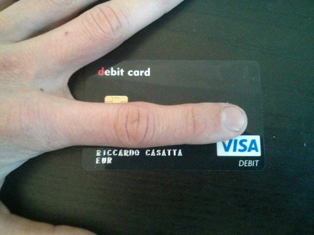 Riccardo Casatta On Twitter Bitcoin Black Debit Card From Xapo