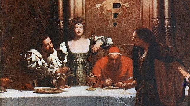 Resultado de imagen para asesinato del heredero de los Borgia