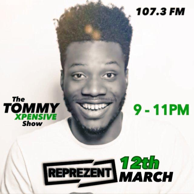 My boy tommy is on Reprezent fm check him out @TOMMY_XPENSIVE http://t.co/9Ve4opAHTU