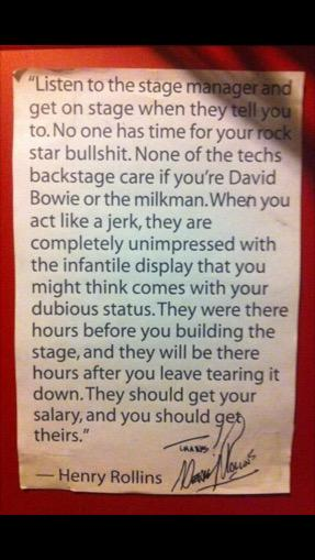 Marvellous MT @eddiemarsan Advice from Henry Rollins to those who think it's ok to throw punches at crew http://t.co/37IRlhIV4x