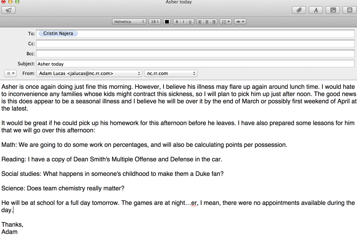 in formal essay note