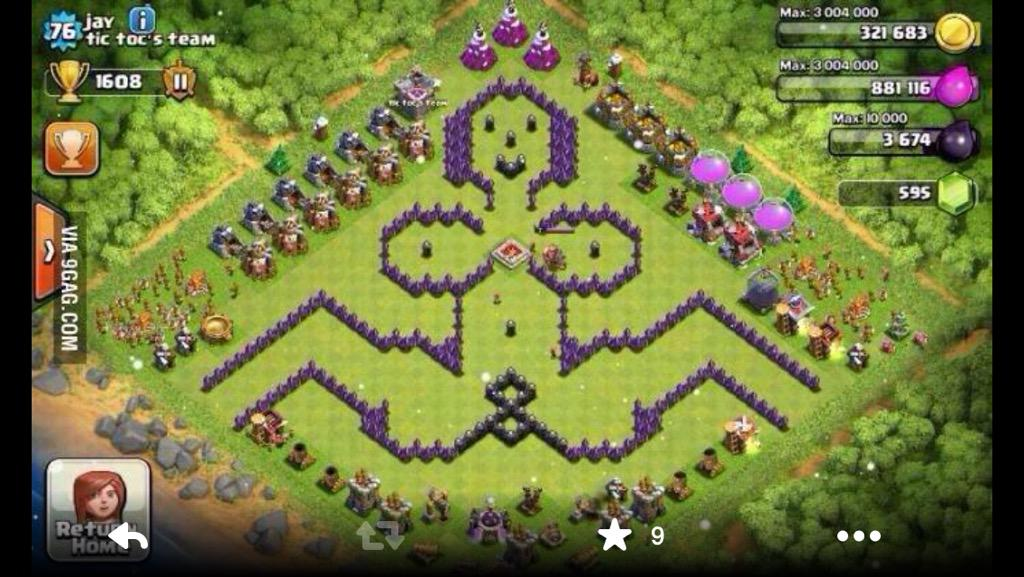 how to create new account in clash of clans