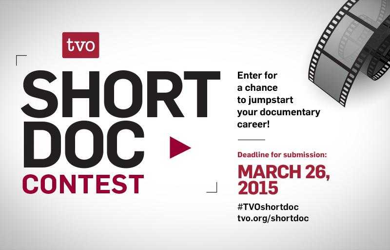 So, you want to be a filmmaker? It's not too late to enter the #TVOShortDoc Contest! http://t.co/kGQo8WHfPy http://t.co/8CmX1KRmmy