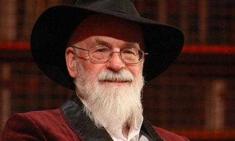 """""""Don't think of it as dying,"""" said Death. """"Just think of it as leaving early to avoid the rush."""" RIP Terry Pratchett. http://t.co/0J2rQj1c2y"""