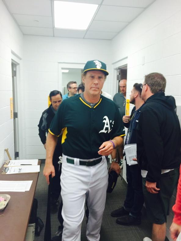 Source: Will Ferrell has passed his physical and is ready to leave it all out on the field. #FerrellTakesTheField http://t.co/1nw0i5cdBj