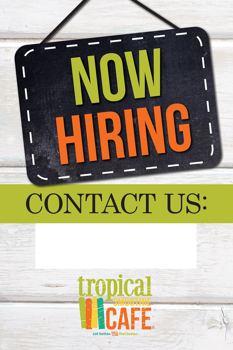 tropical smoothie ok on twitter now hiring at our cafe on 03131 w memorial ave in okc 405 753 5454 okctscgmailcom or httptcowt99g4nln6 - Tropical Cafe 2015