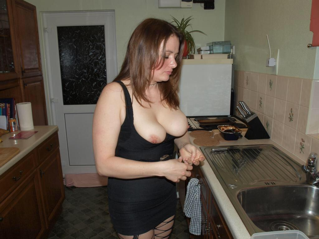 Housewife wet aroused cunt
