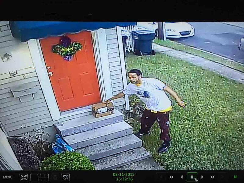 Do you know this man? He steals packages off of porches. Photo courtesy of victim. Near S. Prieur/Jefferson 3/11/15 http://t.co/6gqKjcdK1Z