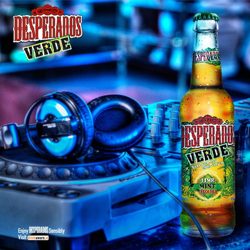 Desperados Ireland On Twitter Desperados Verde Mint Lime And Tequila Flavoured Goodness Want A 3 Pack Tweet Us And Tell Us Why You Should Win Http T Co Od5oa6krlw