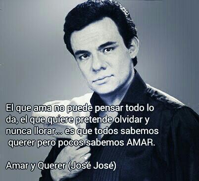 Frases De Canciones On Twitter El Amar Y Querer José