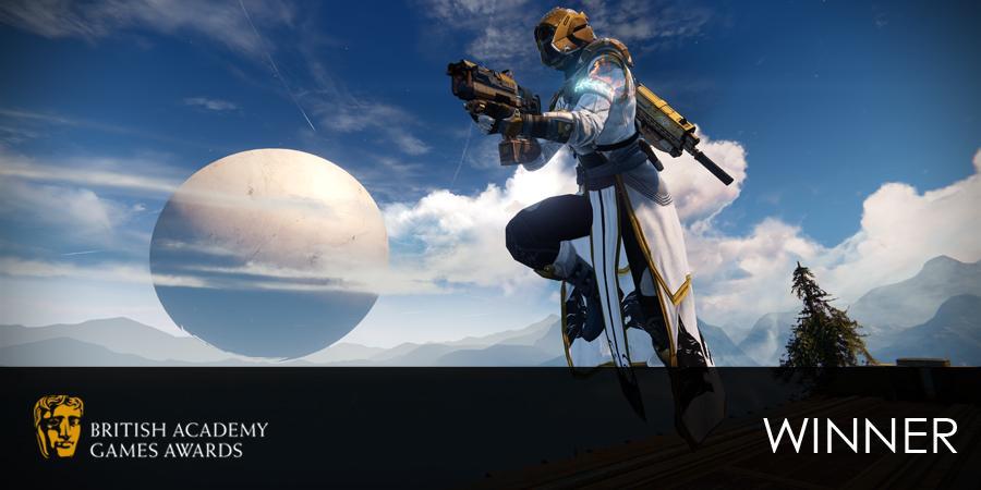 #BAFTAGames WINNER: Best Game - Destiny http://t.co/TCb7DBs5IW http://t.co/6ki4wj71Me