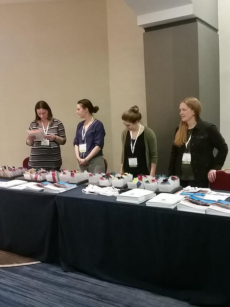 Pre-registration taking place in the lobby of the Baltimore Marriott #NPA2015 http://t.co/1KQqUQK95n