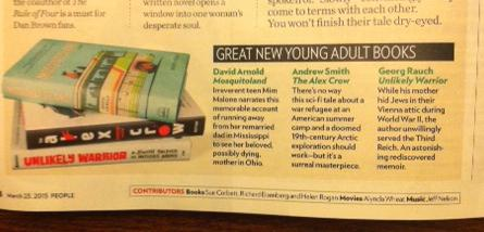 Exhibit B, in why YA female authors might be touchy about sexism: This month's YA features in People Mag: http://t.co/4sTTJpqmjT