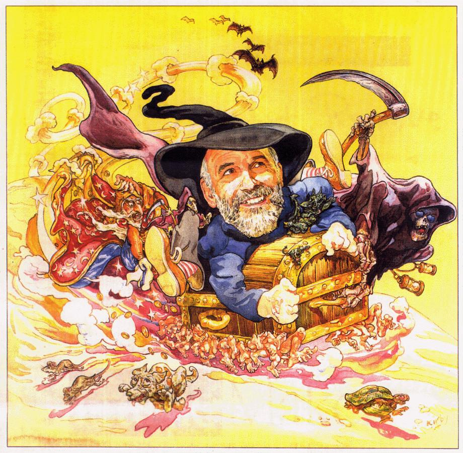 Pratchett-dibujo-color-de-la-magia