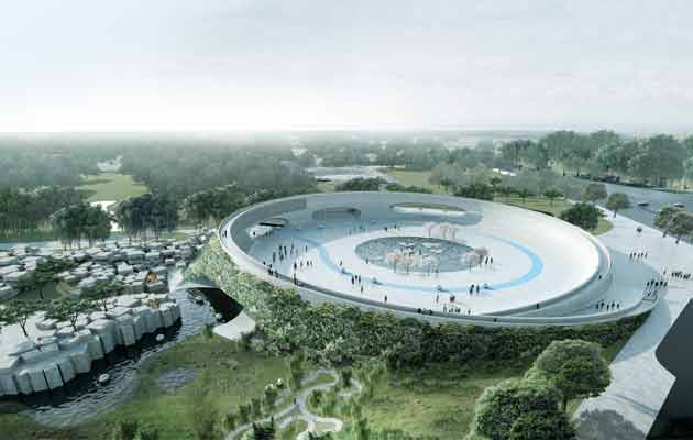 @BjarkeIngels on his plan for a zoo in Denmark where humans are confined and animals roam free http://t.co/0HdNP8AwkV http://t.co/y7zvjkiiim
