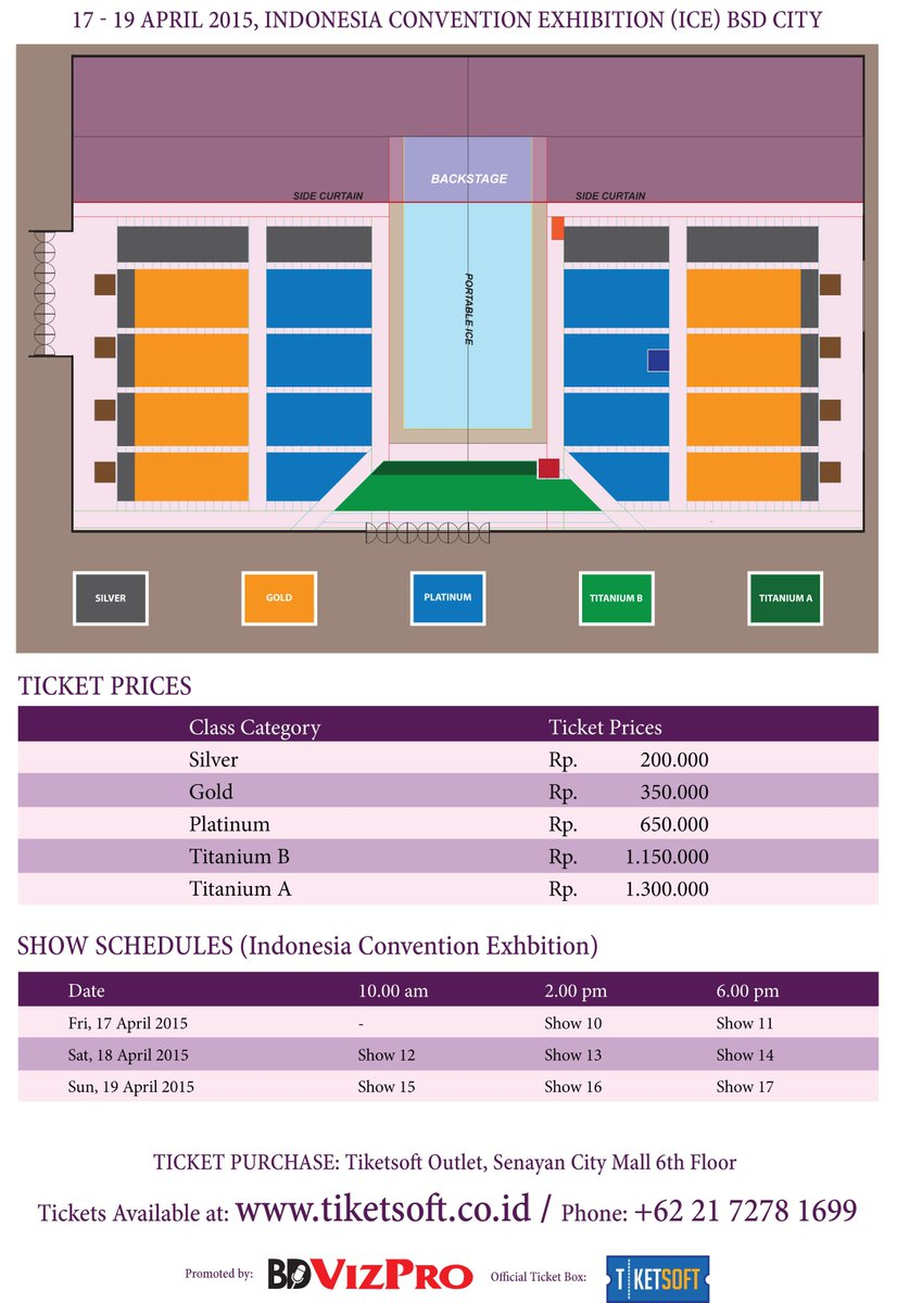 Terra Event On Twitter Disney On Ice Dare To Dream Layout For