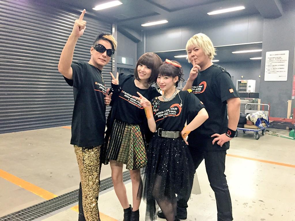 fripSideさんのツアーファイナル@横浜アリーナに、ALTIMAとして出演させていただきましたー!fripSideさん、横浜アリーナ公演おめでとうございます☆すっごくすっごくたのしかったよー!! http://t.co/pYH3CXtAqK