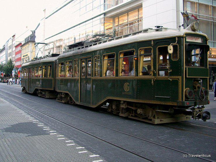 Tramcar dating back to 1928 still  available as chartered train in Mannheim, Germany > http://t.co/R6VZHeSWDP http://t.co/L7DuiDF8t2