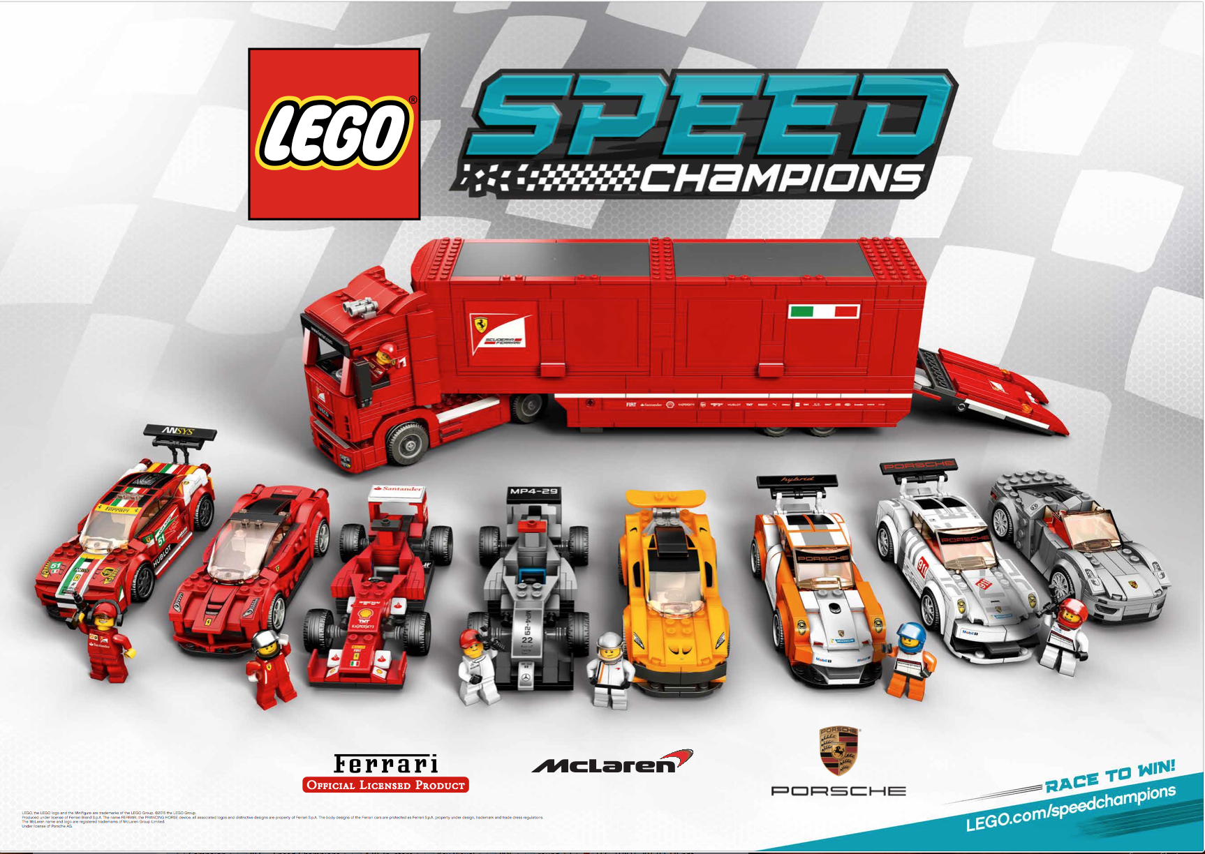lego on twitter lego speed champions are available now ferrari mclarenf1 porsche. Black Bedroom Furniture Sets. Home Design Ideas