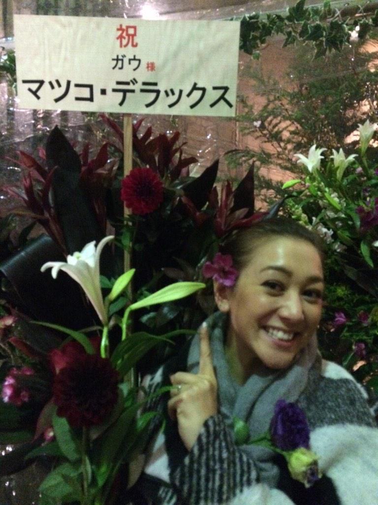 お花をもらったSHELLY