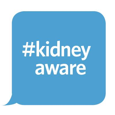 March is National Kidney Month. Follow along with the hashtag #kidneyaware all month long for tips and resources. http://t.co/JbvH1thKeU