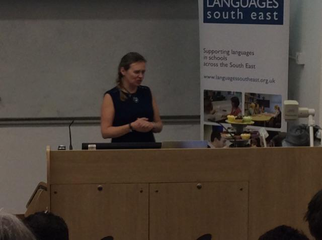 @lisibo kicking off her keynote. Cool shoes, yummy cakes and cooking on gas #ililc5 http://t.co/6yUgiWvHXx