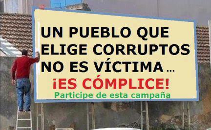 """""""@rhb_rober: """"@FUERTEMAGAZINES: FMW http://t.co/3fzvoJ0bdh"""""""" UN PUEBLO QUE ELIGE CORRUPTOS NO ED VÍCTIMA ES CÓMPLICE.   LISTAS ABIERTAS YA"""