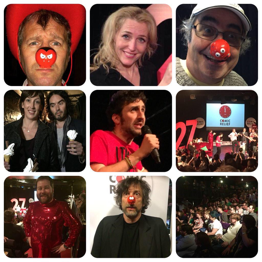 RT @LukeWHarris: Some of the highlights of the mad, crazy and wonderful #Watson27. @WatsonComedian and crew are legends. http://t.co/KEZjpM…
