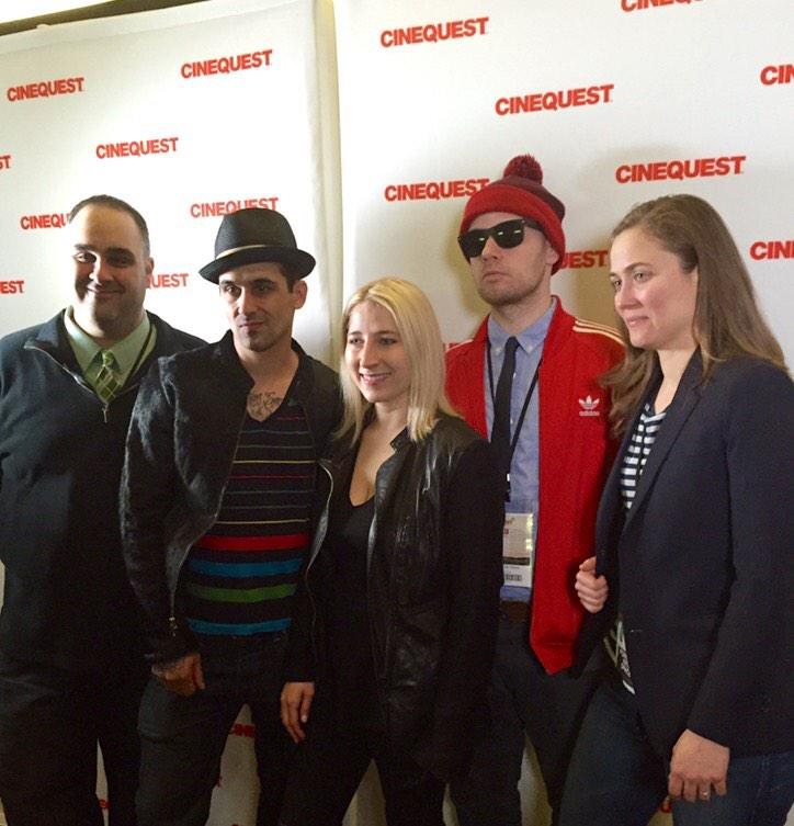 Check out @jennablaha gearing up for first screening of the day with @FIS_film at @cinequest! http://t.co/EeA6NvBf21