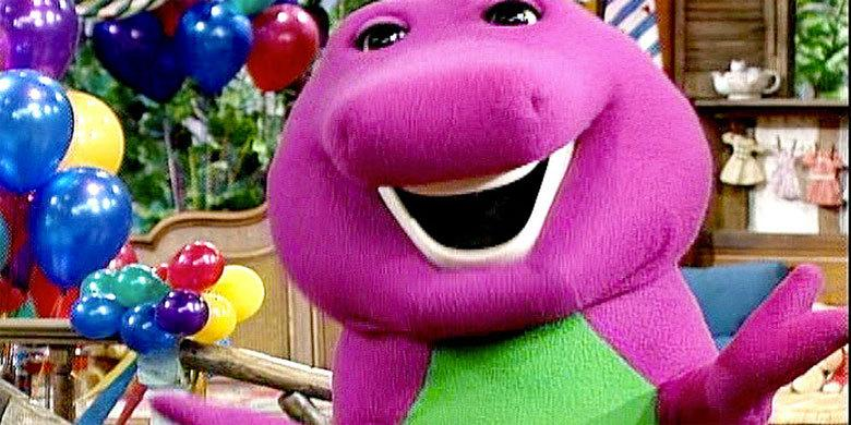 Dinos With Attitude! Watch Barney Rap NWA's 'Straight Outta Compton' http://t.co/8RhTZpvwEl http://t.co/3SnSoCKETf