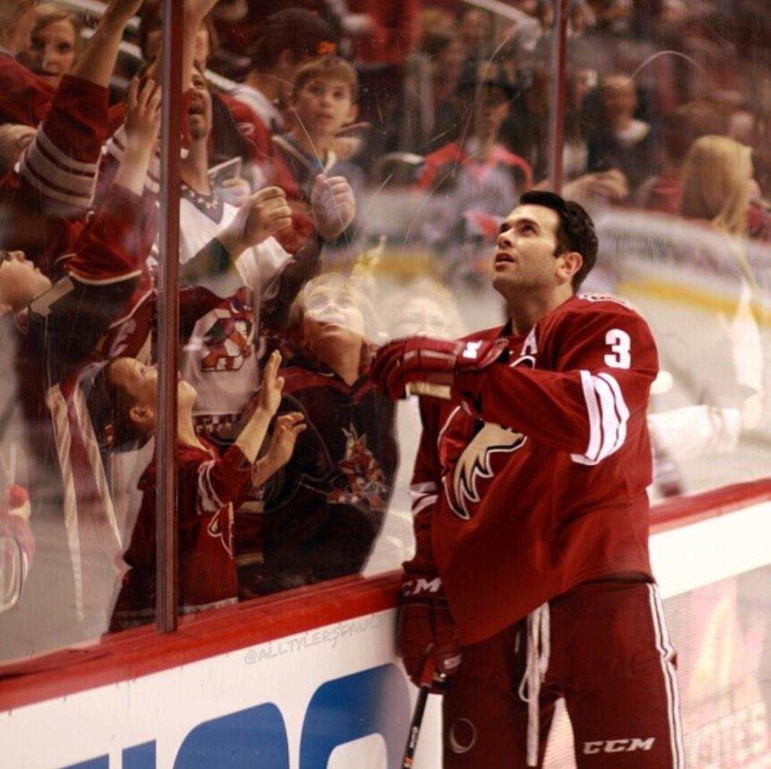 Keith Yandle, thank you for everything, you will be missed dearly! @ArizonaCoyotes @NYRangers http://t.co/teQ0iTPnTa