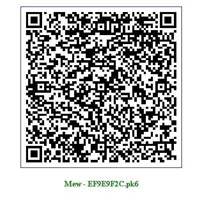 Pokèmon Qr Codes At Pokemonqr Twitter
